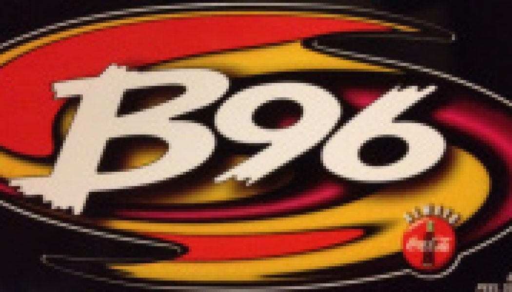 WBBM-FM (B96) – Chicago – 12/24/96 – Brian Middleton