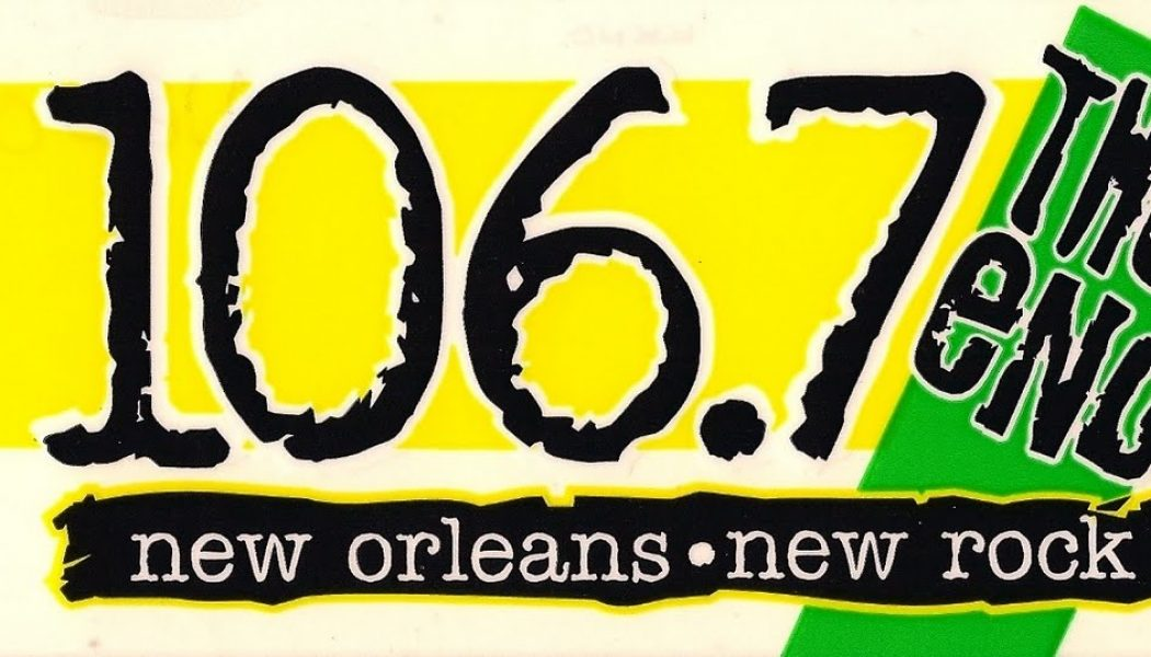 KKND (106.7 the End) – New Orleans – Oct '96 – Rod Ryan